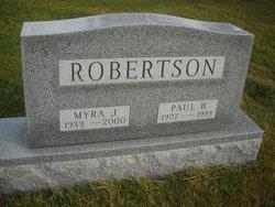 Myra J. Robertson