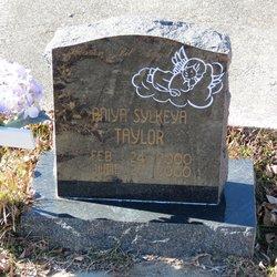 Aniya Sylkeya Taylor