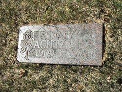 Mary Achtzener