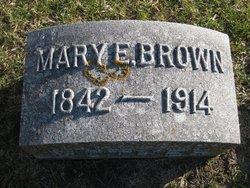 Mary E. <i>Norris</i> Brown