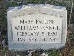 Mary Pauline <i>Williams</i> Kyncl