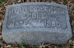 Myrtle Claire <i>Gleason</i> Cole