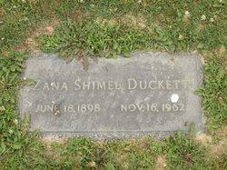 Zana <i>Shimel</i> Duckett