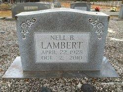 Nell <i>Bell</i> Lambert