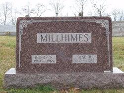 Mae Irene <i>Beamer</i> Millhimes