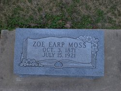 Missouri Zoe <i>Earp</i> Moss