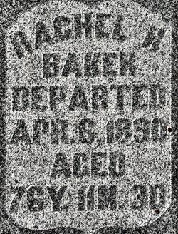 Rachel H. <i>Anthony</i> Baker
