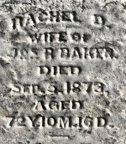 Rachel <i>Dilworth</i> Baker