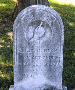 Eliza Dunlap