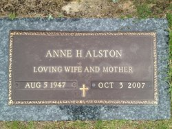Anne Heath Alston
