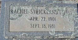 Rachel <i>Strickland</i> Little