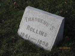 Thaddeus S. Rollins