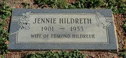 Jennie <i>Burgess</i> Hildreth