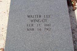 Walter Lee Wingate