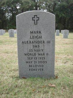 Mark Leigh Alexander, III