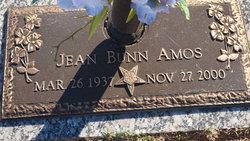 Jean <i>Bunn</i> Amos