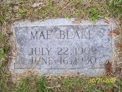 Mae <i>Bowman</i> Blake