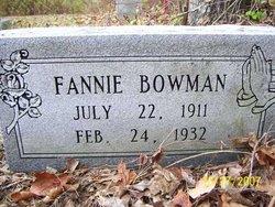 Fannie Bowman