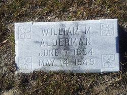 William M Alderman
