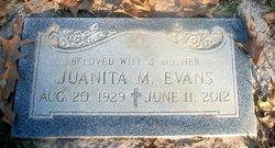 Juanita Mae Mema <i>Mannix</i> Evans