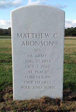 Matthew C. Matt Aronson