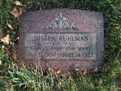 Joseph John Ruhlman