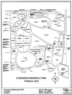 Evergreen Memorial Park