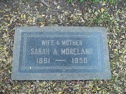 Sarah Alice <i>Parkhurst</i> Moreland