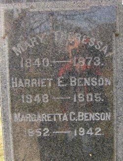 Theresa Mary Mary Theresa Benson