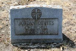 Mildred Jordan <i>Dewees</i> Churchill