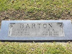 Mary E. <i>Leggett</i> Barton