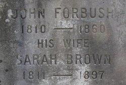 Sarah <i>Brown</i> Forbush