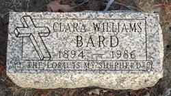 Clara Wena <i>Williams</i> Bard