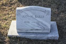 Ann W. Baker
