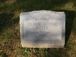Eleanor <i>McIndoe</i> Miller
