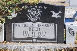 Kathleen Hembree Reed