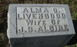 Alma G <i>Livengood</i> Algire