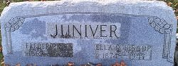 Ella M <i>Bishop</i> Juniver