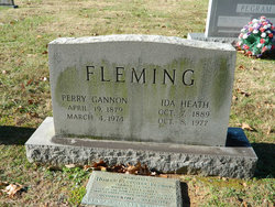 Ida <i>Heath</i> Fleming