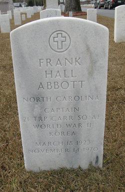 Capt Frank Hall Abbott, Jr
