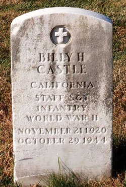 Sgt Billy H Castle