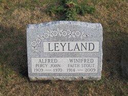 Winifred Faith <i>Stout</i> Leyland