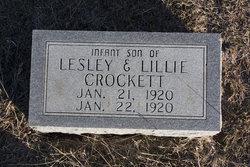 (infant) Crockett