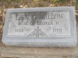 Effie Gladys <i>Campbell</i> Mallon