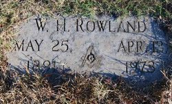 William H Rowland