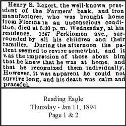 Henry S. Eckert