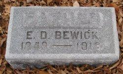 Ebenezer Davis Bewick