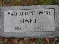 Mary Adeline <i>Owens</i> Powell