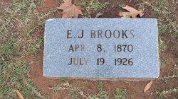E J Brooks