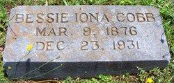 Bessie Iona <i>Scronce</i> Cobb